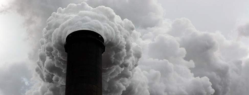 Chimney smoke stack