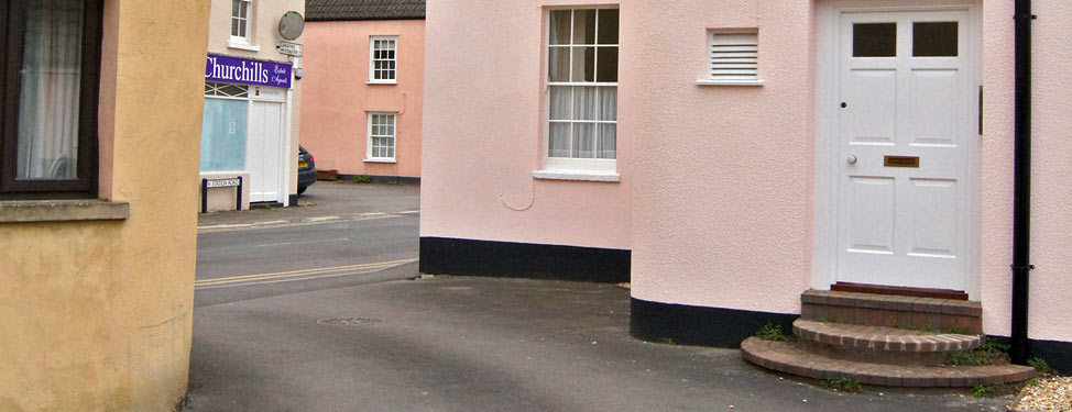 Houses in a UK street