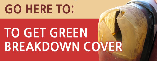Green Breakdown Cover