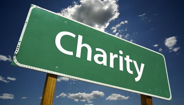 Charity signpost