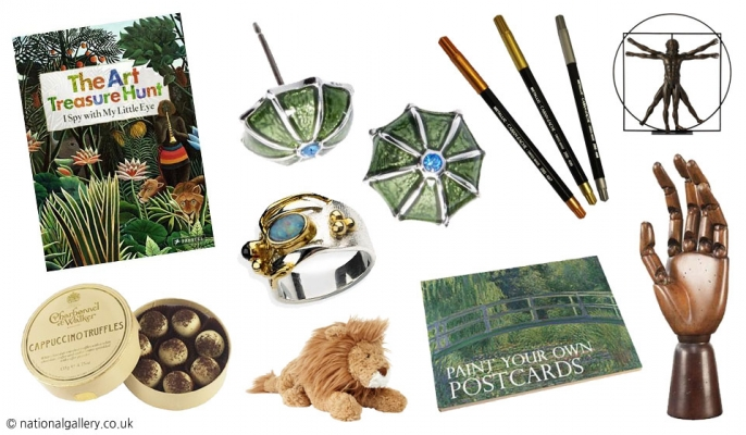 National Gallery products available at the shop