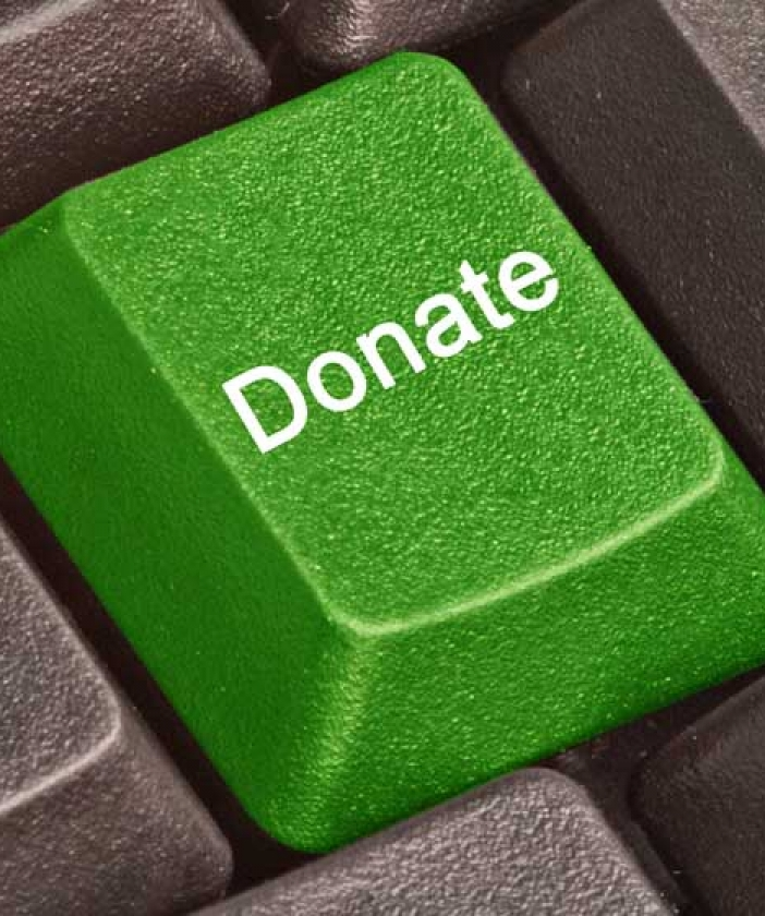 Donate button on keyboard