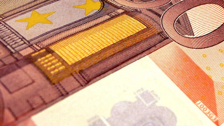 Bank notes in Euro currency